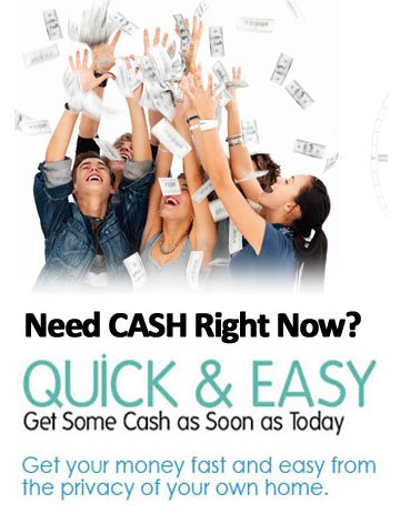 We offer $1,000 in Fast Time. CheckisontheWay No Need Any Faxing & Fast Credit Check.